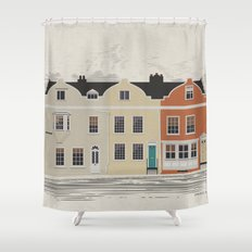 Lombard St. Portsmouth Shower Curtain