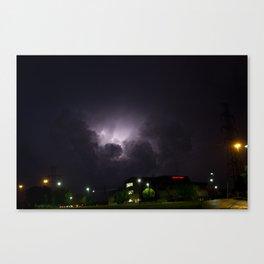 Heavenly Storm Canvas Print