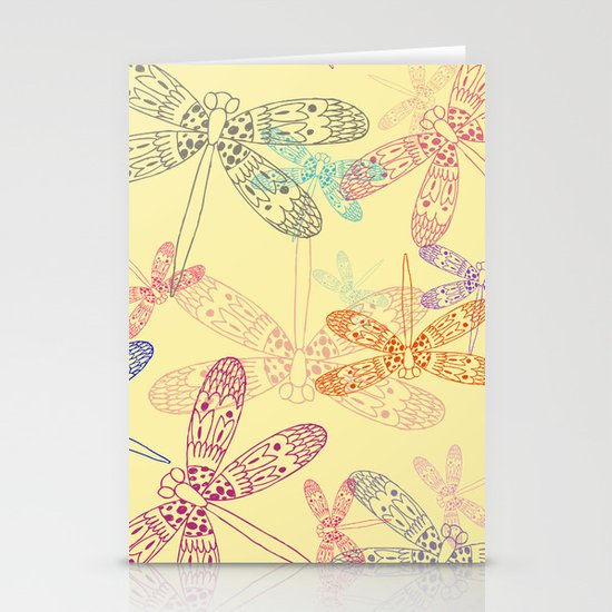 Dragonfly Dragonfly oh, Dragonflies Everywhere! Stationery Cards