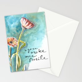 You Make Me Smile Stationery Cards