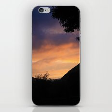 Sunset in the Mountains iPhone & iPod Skin