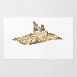 Angel shark Rug