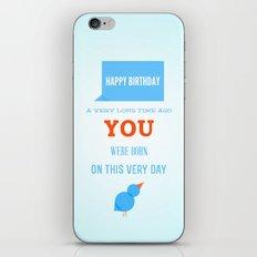 Happy birthday, Ancient One iPhone & iPod Skin