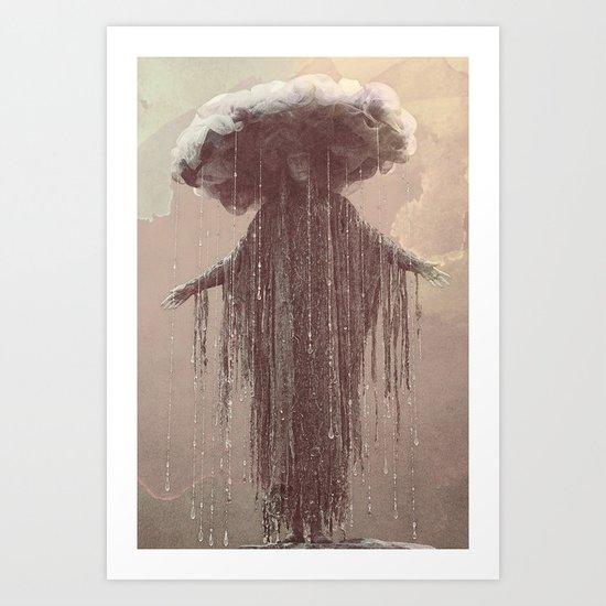 storm lady Art Print