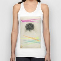led zeppelin Tank Tops featuring Led Contrast by Naomi Vona