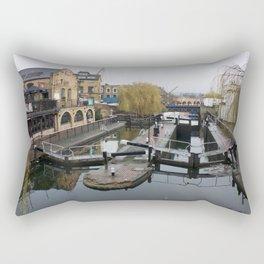 Camden Canal London 1 Rectangular Pillow