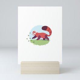 Red Panda cub Mini Art Print