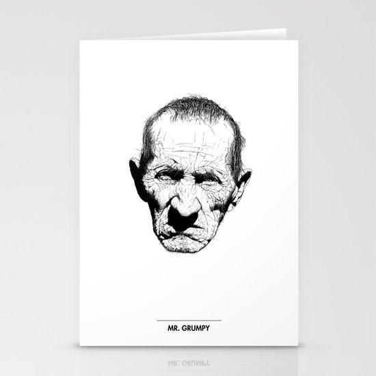 Mr. Grumpy Stationery Cards