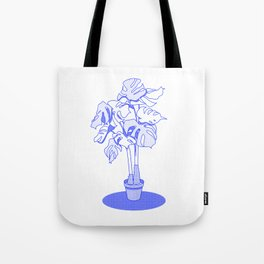 Swiss Cheese Plant Tote Bag