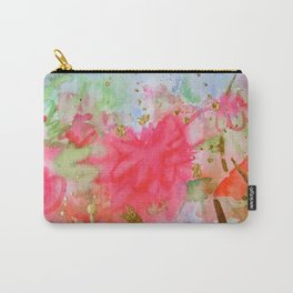 Le Jardin Coral Carry-All Pouch