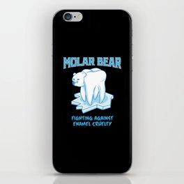 Molar Bear! - Gift iPhone Skin