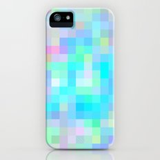 Re-Created Colored Squares No. 1 by Robert S. Lee iPhone (5, 5s) Slim Case