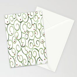 springtime swirl Stationery Cards