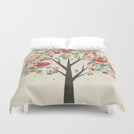 Home Birds Duvet Cover