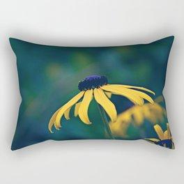 Black Eyed Susan on a Misty Day Rectangular Pillow