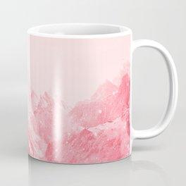 Mountains Red Coffee Mug