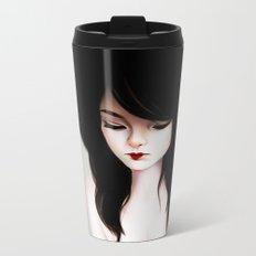 Read My Lips Metal Travel Mug