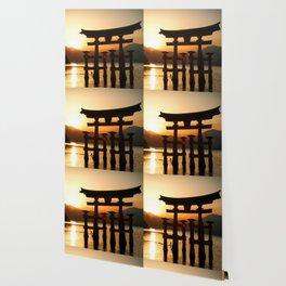 Itsukushima Shrine on Miyajima, Japan Wallpaper