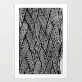 Steel Braided Strap Art Print