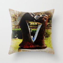 Paintography Series #VIII Throw Pillow