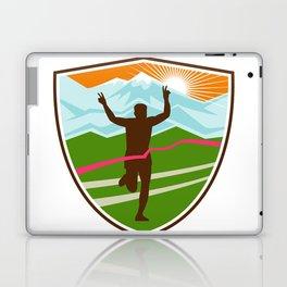 Victorious  Marathon Runner Shield Laptop & iPad Skin
