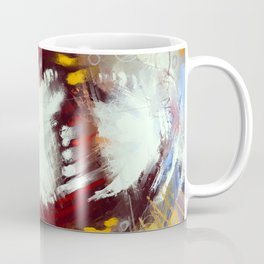 Sea storm and red dragon Coffee Mug