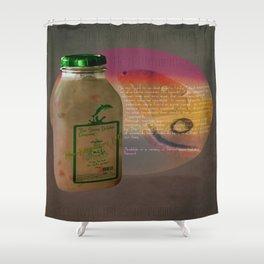 The Smug Dolphin Company Milk  Shower Curtain