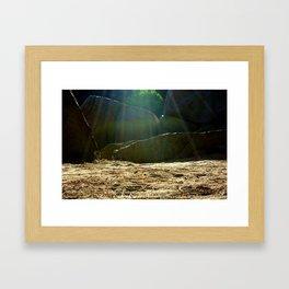 Let's Camp  Framed Art Print
