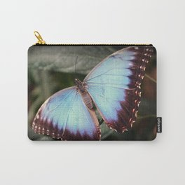 Blue Morpho - Wings Open Carry-All Pouch