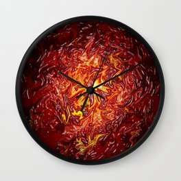 The Fire within..... Wall Clock