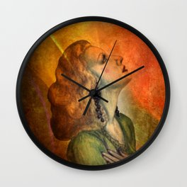 hope - wall art only Wall Clock