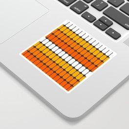 Flame Capsule Sticker