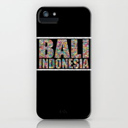 Distressed Bali Indonesia iPhone Case