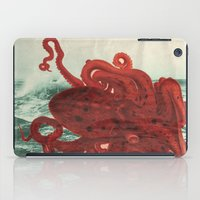 octopus iPad Cases featuring Octopus Beach by Chase Kunz