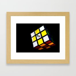 Rubiks Framed Art Print