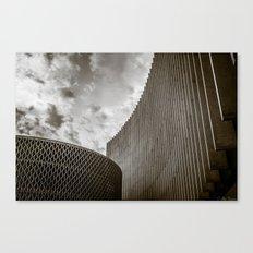 Texturized Brutalism Canvas Print