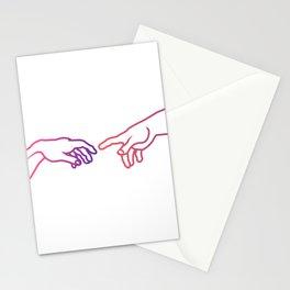 The Creation of Adam (Italian: Creazione di Adamo). Stationery Cards