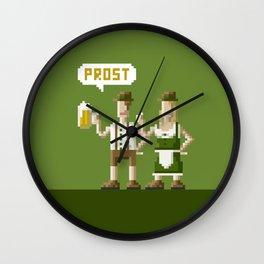 Bavarian Pixel Wall Clock