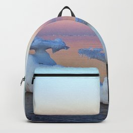 Viking Iceship on the Sea Backpack