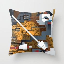 Cheung Po Tsai Throw Pillow