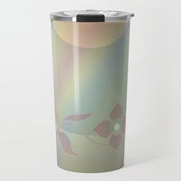 Copper blossom Travel Mug