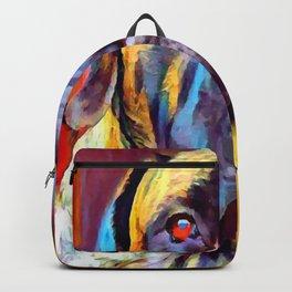 English Mastiff 2 Backpack