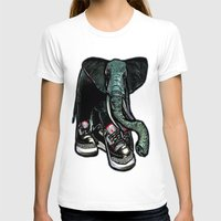 sneaker T-shirts featuring SNEAKER ELEPHANT by Juan Diaz