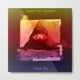 alice in chains fog Metal Print