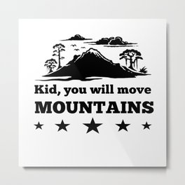 Mountain Sports Metal Print