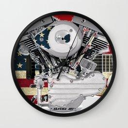 Americarnal Wall Clock