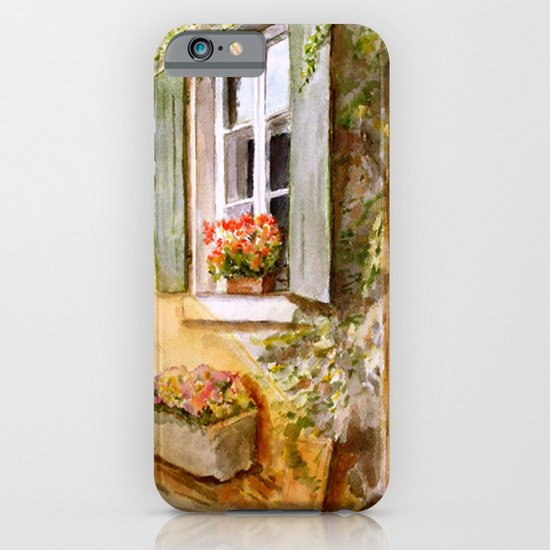 A Window in Hungary iPhone & iPod Case