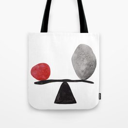 the red stone Tote Bag