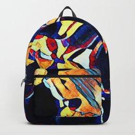 Hot Lava ~ Dog Backpack