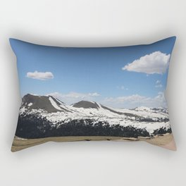 Snowcapped Mountains Rectangular Pillow